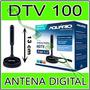 Antena Interna Tv Digital Hdtv Dtv 100 Aquario 100% Original