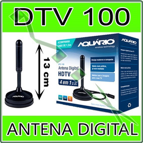 Antena Digital Interna Uhf Hdtv Dtv100 Aquário Tv Digital