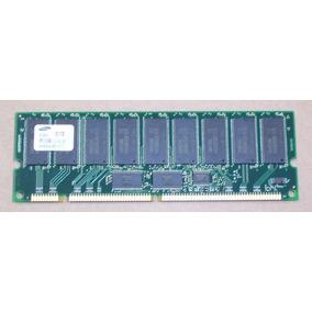 Memoria Samsung 512mb 133mhz Pc133r Ecc Dimm Cl3 P/ Servidor