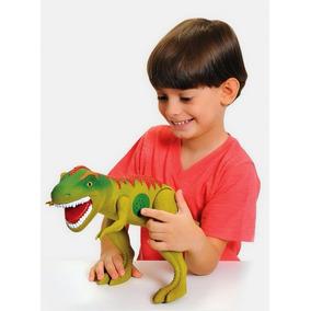 Dinossauro Tirano Rex Com Som - Adijomar