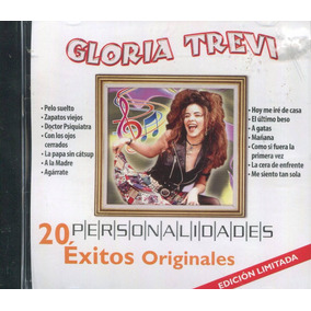Gloria Trevi. Disco Cd. Personalidades. 20 Exitos