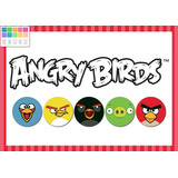 Kit Imprimible Personalizado Angry Birds Incluye Candy Bar