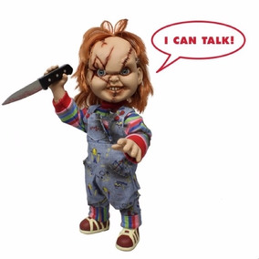 Chucky Scarred Com Som - Mezco Toys
