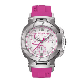 Relógio Feminino Tissot Rosa T Caixa E Manual Azul