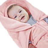Baby Sac Anti-alérgico Colibri Azul, Rosa E Branco