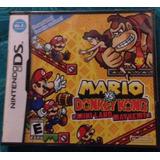 Mario Vs Donkey Kong / Nintendo Ds Lite Dsi 3ds Nuevo Usa 25