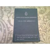 Antigua Libreta Caja De Ahorros Banco Nacion-1974