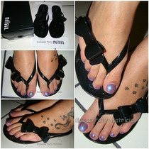 Melissa Cute - Love Pirates - Preto Opaco