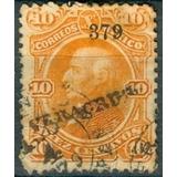 Sc 108 Año 1879 Hidalgo 10 Cent Naranja Dist 3 Veracruz