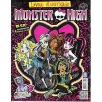 Monster High Album De Figurinhas Completo
