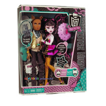 Monster High Draculaura E Clawd 1600 Anos - Original Mattel