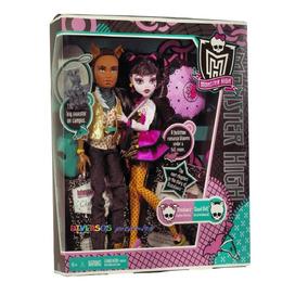 Monster High Draculaura E Clawd 1600 Anos - Original Mattel