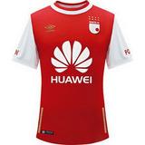Camiseta Oficial Independiente Santa Fe Local 2016 Umbro +bo