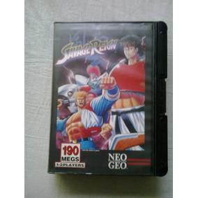 Savage Reign - Cartucho Neo Geo - Jogo Neo Geo