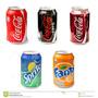 Coca, Sprite, Fanta En Latas 354cc