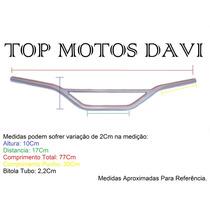 Guidão Moto Honda Xre 300 Prata Sem Fixa Peso