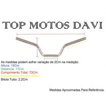 Guidão Moto Dafra Speed 150 Cromado Sem Fixa Peso