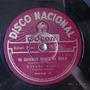 Rafael Rossi Nacional 9849 Disco 78 Rpm Pasta Tango