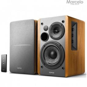 Monitor De Áudio Ativo R1280t Edifier 42w Rms Preto Bivolt