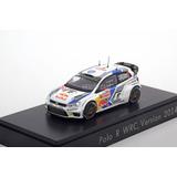 1/43 Spark - Volkswagen Polo R Wrc Rally Monte Carlo 2014