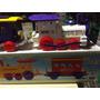 Locomotora Con Vagón Juguete Calesita Jretro