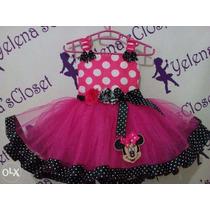 Vestido Disfraz Minnie