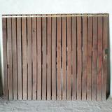 Porton Corredizo De Madera Rustico 2 X 2.40 M