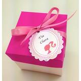 Convite Caixinha Barbie Personalizado- 10 Unid.