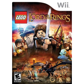 Lego Lord Of The Rings Wii Nuevo De Fabrica