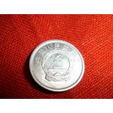 Lote 2 Monedas.begica Y China.buen Estado!!!!!!!!