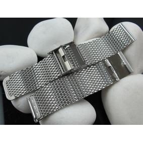 Pulseira De Relógio Mesh - Luxo - Silver Bracelet