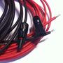 Kit Cables Y Conector Mc4 Para Conectar 1 Panel Solar 15 Mts