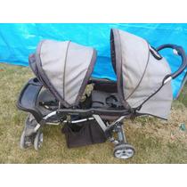 Carrinho De Bebê P/gêmeos Semi Novo
