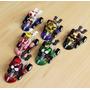 Super Mario Kart Kit Com 6 Carrinho De Puxar Pronta Entrega