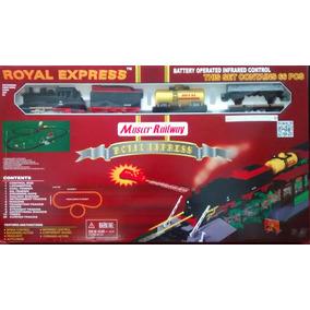Tren Eléctrico Con Luces Y Sonido Royal Express