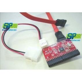 Conversor Adaptador Ide P/ Sata - Serve Para Ligar Hd Sata