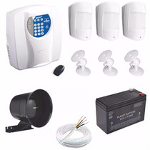 Kit Alarme Central Genno Inform Residencial Comercial + Disc