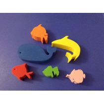 Figuras Foami Animales Acuáticos