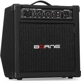Amplificador Borne Impact Bass Cb80 30w Para Baixo