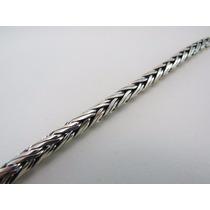 Cordão De Bali Masculino Palmera 60cm X 4mm Em Prata 925