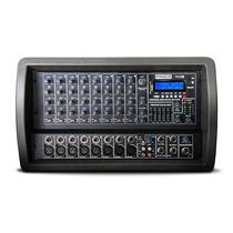 Mixer Potenciado 8 Canales Bluetooth Mp3 Usb Sd Proco Mx8