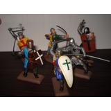Set Soldados Medievales Distintas Poses Y Colores Temperley