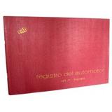 Libro Rab Registro Automotor De Talleres Tapa Flexible 48pag