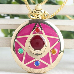 Hermoso Collar Reloj Sailor Moon Estrella Anime Envio Gratis