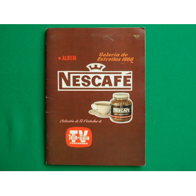 1966 Album Nescafe Galeria D Estrellas 52 Portadas Tele Guia