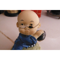 Figura Niño Chino En Traje Tradicional Kung Fu Oriental
