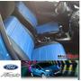 Funda Cubre Asiento Ford Fiesta Kinetic. Simil Cuero Acolch.