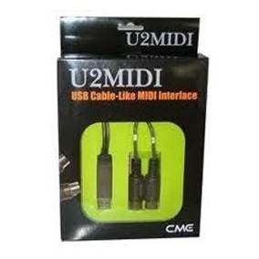 Cabo Interface Usb Midi Cme U2midi V2 Audio Profisssional