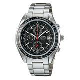 Reloj Casio Hombre Ef-503d-1a Analogo Con Taquimetro Cronog