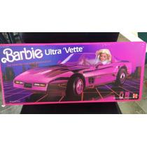 Barbie Corvette Pink Car Carro Vintage Raro Novo Na Caixa
